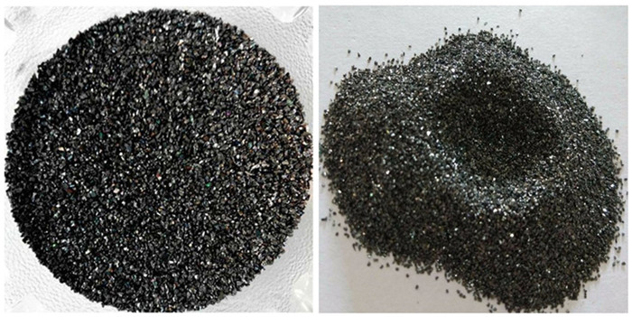 What is the general standard for silicon carbide used in steel plants ?