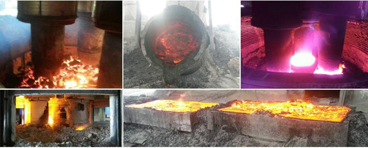 China silicon slag factory